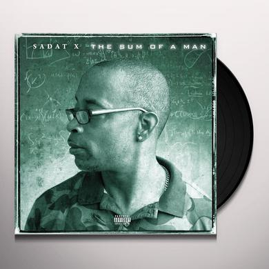 Sadat X SUM OF A MAN Vinyl Record