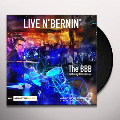 Bbb / Bernie Dresel LIVE N' BERNIN Vinyl Record
