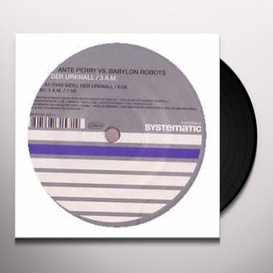 Ante Vs Babylon Robots Perry DER URKNALL / 3 A.M. Vinyl Record