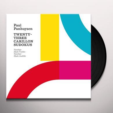 Paul Panhuysen TWENTY-THREE CARILLON SUDOKUS Vinyl Record