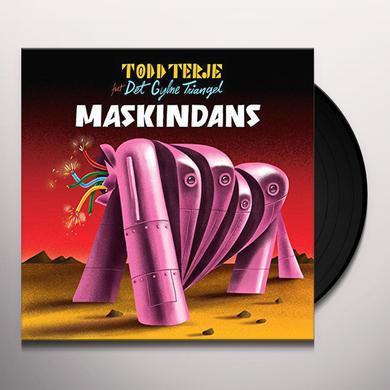 Todd Terje MASKINDANS Vinyl Record