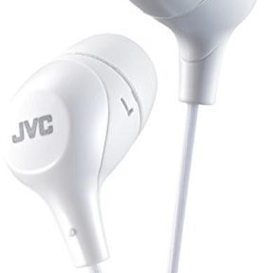 Headphones JVC HAFX38MW MARSHMALLOW EARPHONE MIC & REMOTE WHT