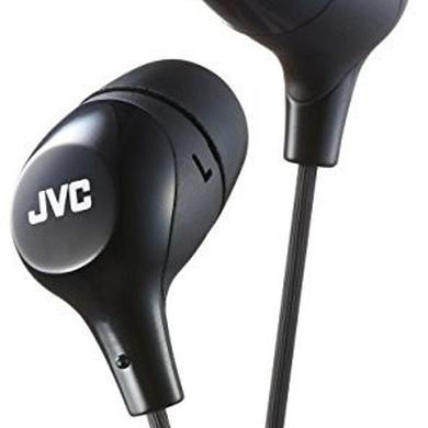 Headphones JVC HAFX38B MARSHMALLOW EARPHONES BLACK