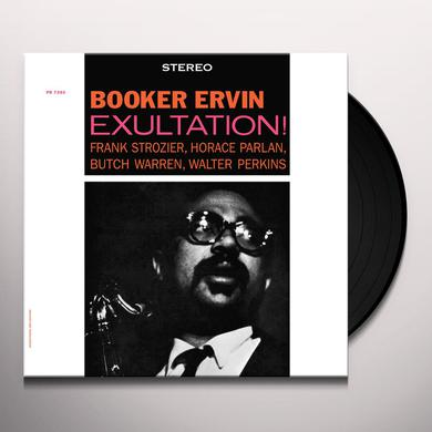 Booker Ervin EXULTATION Vinyl Record
