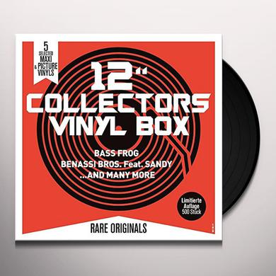 12 COLLECTORS VINYL BOX (BASS FROG/BENASSI BROS) Vinyl Record