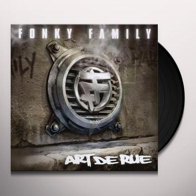 Fonky Family ART DE RUE Vinyl Record