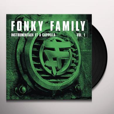 Fonky Family INSTRUMENTAUX ET A CAPELLAS VOL 1 Vinyl Record
