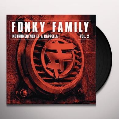 Fonky Family INSTRUMENTAUX ET A CAPELLAS VOL 2 Vinyl Record