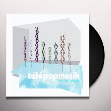 Telepopmusik BREATHE (ORIGINAL + REMIXES) Vinyl Record