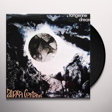 Tangerine Dream ALPHA CENTAURI Vinyl Record