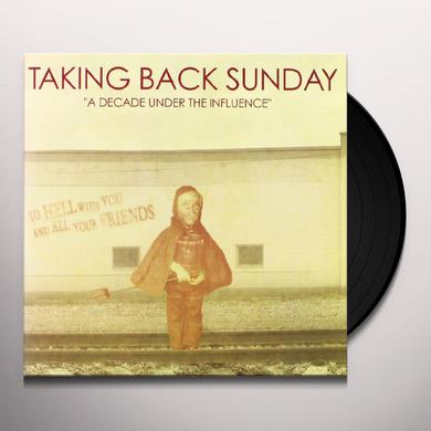 Taking Back Sunday DECADE UNDER THE INFLUENCE Vinyl Record