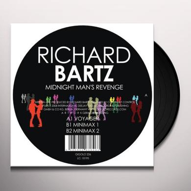 Richard Bartz MIDNIGHT MAN'S REVENGE Vinyl Record