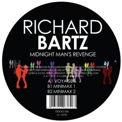 Richard Bartz MIDNIGHT MAN'S REVENGE Vinyl Record