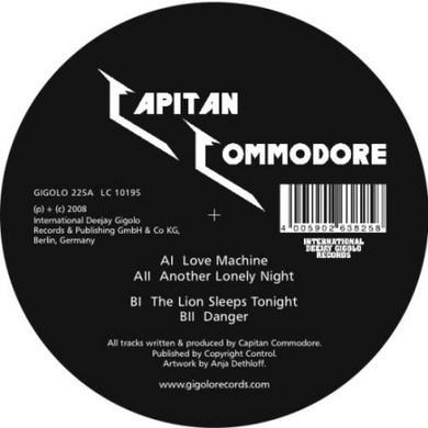 Capitan Commodore LOVE MACHINE Vinyl Record