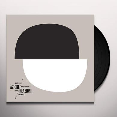 Gruppo Di Improvvisazione Nuova Consonanza AZIONI / REAZIONI 1967-1969 Vinyl Record