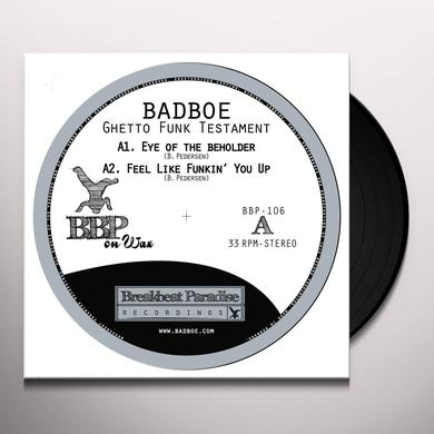 Badboe GHETTO FUNK TESTAMENT Vinyl Record