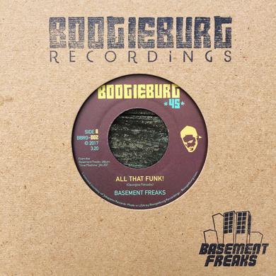 Basement Freaks ALL THAT FUNK! / CALLING THE JAMS Vinyl Record