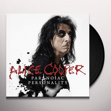 Alice Cooper PARANOIAC PERSONALITY Vinyl Record