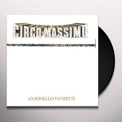 Antonello Venditti CIRCO MASSIMO Vinyl Record