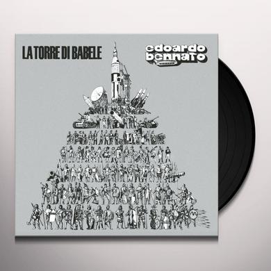 Edoardo Bennato LA TORRE DI BABELE Vinyl Record