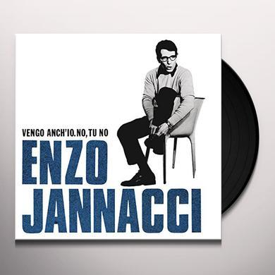 Enzo Jannacci VENGO ANCH'IO NO TU NO Vinyl Record
