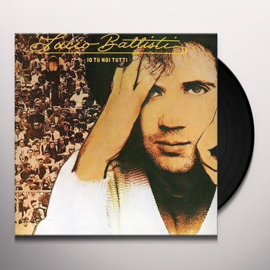 Lucio Battisti IO TU NOI TUTTI Vinyl Record