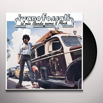 Ivano Fossati LA MIA BANDA SUONA IL ROCK Vinyl Record