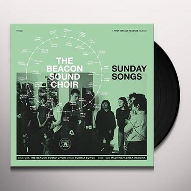 BEACON SOUND CHOIR SUNDAY SONGS Vinyl Record
