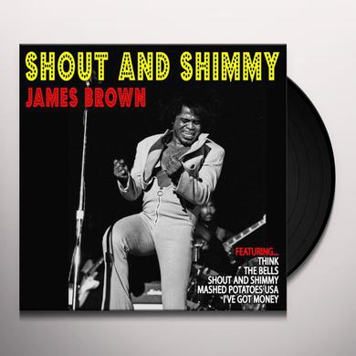 James Brown SHOUT & SHIMMY Vinyl Record