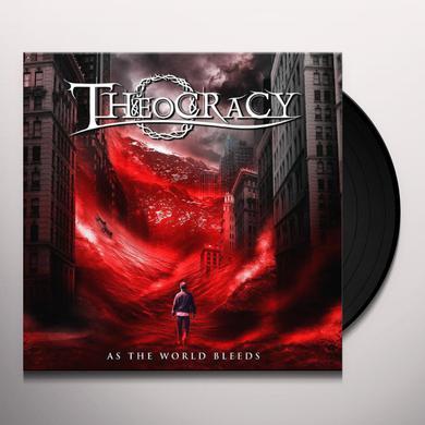 Theocracy AS THE WORLD BLEEDS Vinyl Record