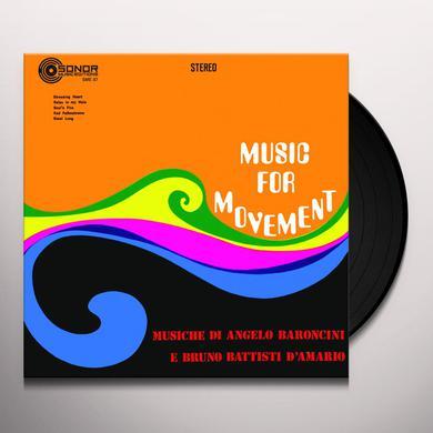 Angelo Baroncini / Bruno Battisti D'Amario MUSIC FOR MOVEMENT Vinyl Record