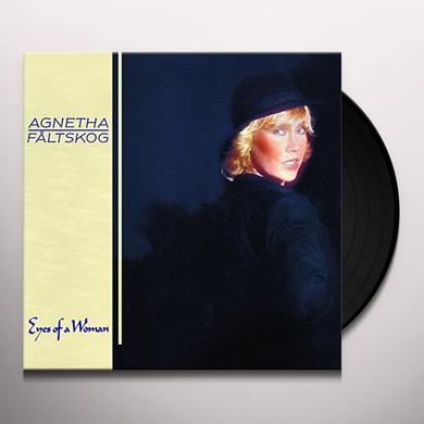 Agnetha Faltskog EYES OF A WOMAN Vinyl Record