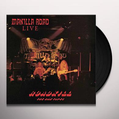 Manilla Road ROADKILL: RAW TAPES (OXBLOOD VINYL) Vinyl Record