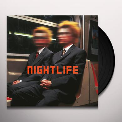 Pet Shop Boys NIGHTLIFE (2017 REMASTERED VERSION) Vinyl Record
