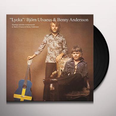 Bjorn Ulvaeus / Benny Andersson LYCKA Vinyl Record