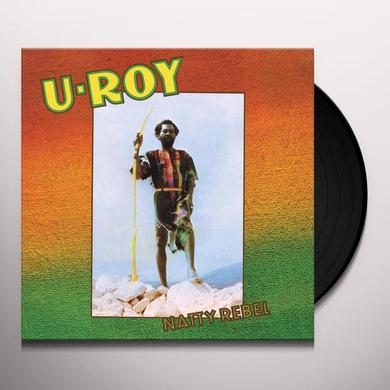 U-Roy NATTY REBEL Vinyl Record