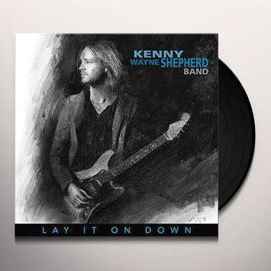 Kenny Wayne Shepherd LAY IT ON DOWN Vinyl Record