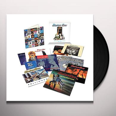 Status Quo VINYL SINGLES COLLECTION 1984-1989 Vinyl Record