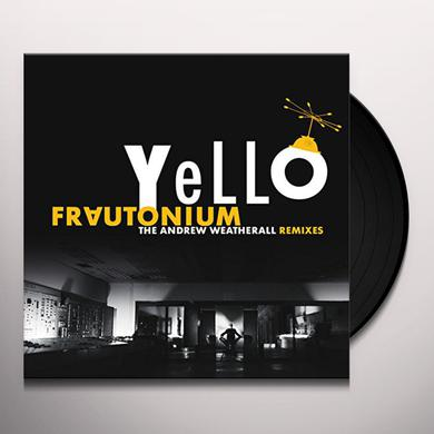 Yello FRAUTONIUM (ANDREW WEATHERALL REMIXES) Vinyl Record