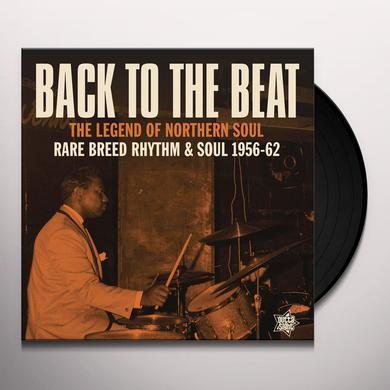 BACK TO THE BEAT: RARE BREED RHYTHM & SOUL 56-62 Vinyl Record