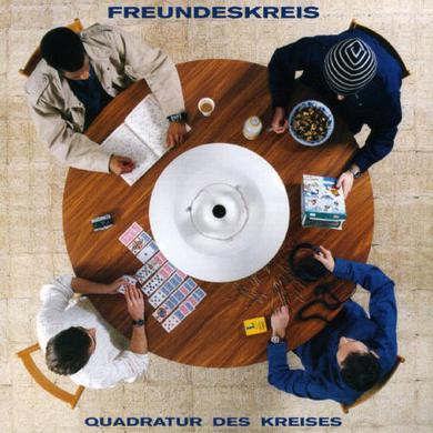 FREUNDESKREIS QUADRATUR DES KREISES (WHITE VINYL) Vinyl Record
