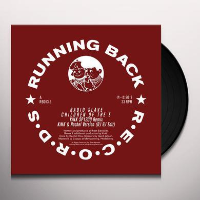 Radio Slave CHILDREN OF THE E REMIXES Vinyl Record