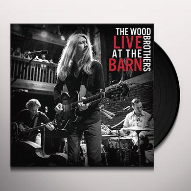 Wood Brothers LIVE AT THE BARN Vinyl Record