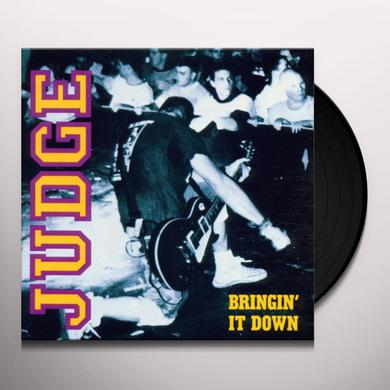 Judge BRINGIN' IT DOWN Vinyl Record