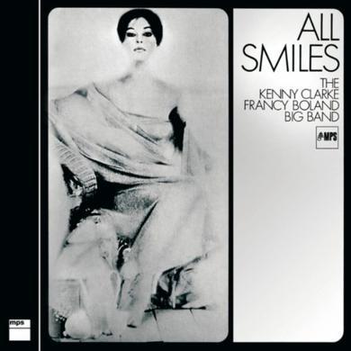 ALL SMILES - THE KENNY CLARKE FRANCY BOLAND BIG Vinyl Record