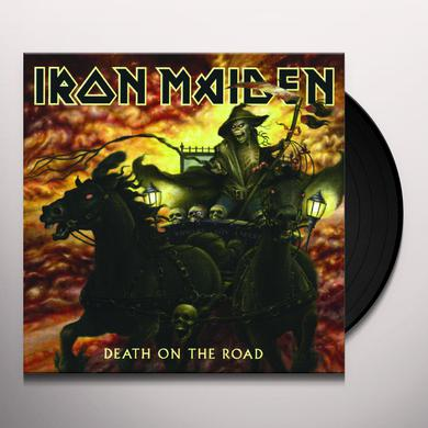 Iron Maiden DEATH ON THE ROAD Vinyl Record