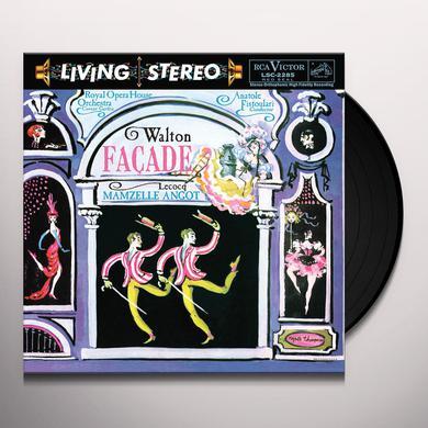 Anatole Fistoulari WALTON: FAGADE / LECOCQ: MAMZELLE ANGOT Vinyl Record
