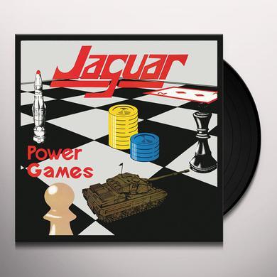 Jaguar POWER GAMES Vinyl Record