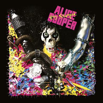 Alice Cooper HEY STOOPID Vinyl Record