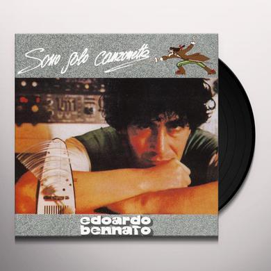 Edoardo Bennato SONO SOLO CANZONETTE Vinyl Record
